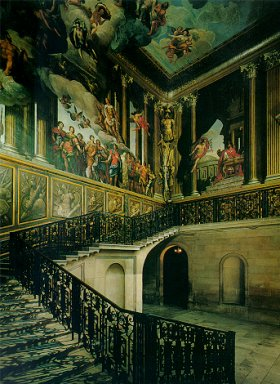 The King's Stairway @ Hampton Court Palace