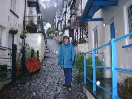Leonie in Clovelly