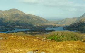 View from the Ladies View - Ring of Kerry