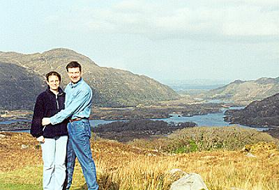 Leonie and I @ the Ladies View on the Ring of Kerry