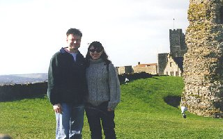 Leonie and I @ Dover Castle