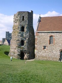 Roman Light House @ Dover Castle