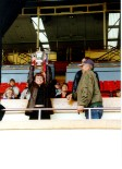 Leonie @ Wembley collecting Winners Trophy