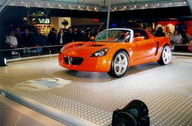 London Motorshow 99, New Vauxhall