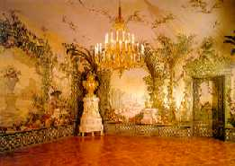 The Bergirooms inside the Schonbrunn Palace